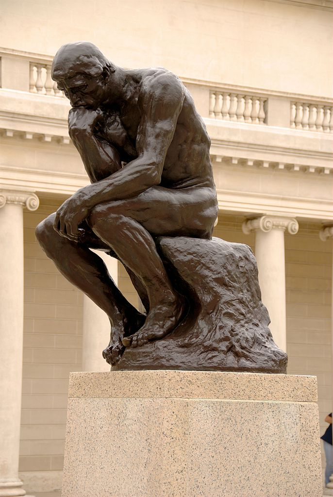 """""""The Thinker"""" - Auguste Rodin"""